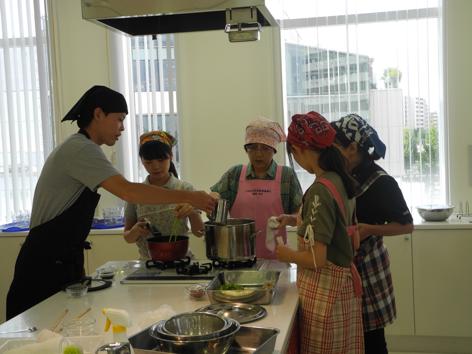 農家料理の実習1