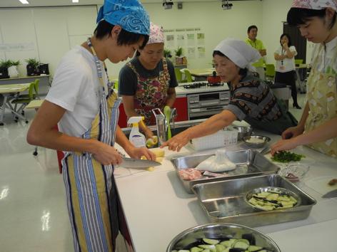 農家料理の実習2