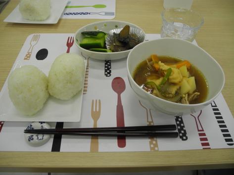 学生が作った料理